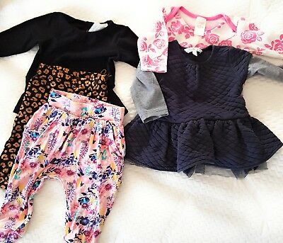 Baby Girl Size 00 Bulk Winter Clothes,  babe, baby Berry