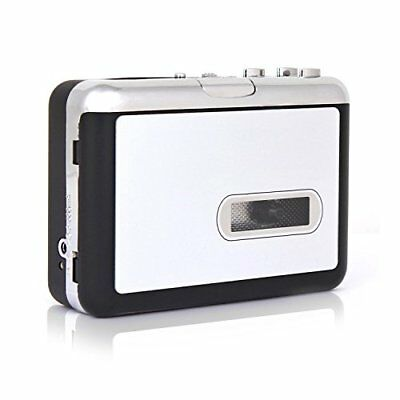IIEasy Portable Mini USB Audio Cassette Tape-to-MP3 Converter Player Adapter USB