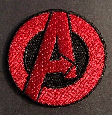 AVENGERS (A Logo) PATCH Iron On Embroidered Marvel Comics Superhero Infinity War