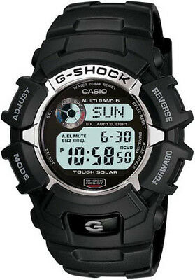 Casio G-Shock Men's Tough Solar Atomic Digital Resin Sport 46mm Watch GW2310-1