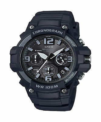 Casio Men's Quartz Chronograph Resin Band Sport 49Mm Watch Mcw100h-1A3v