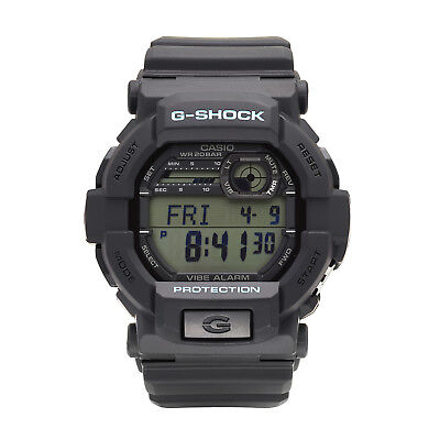 Casio G-Shock Men's Quartz Chronograph Black Resin Band 50mm Watch GD350-1C