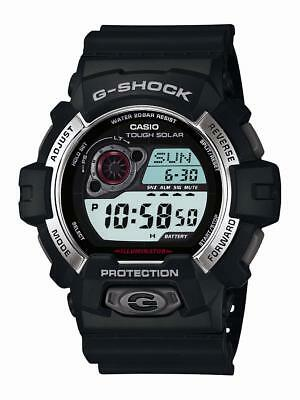 Casio G-Shock Men's Tough Solar Digital Black Resin Band 52Mm Watch Gr8900-1