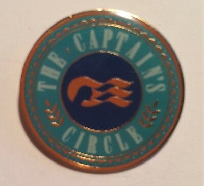 PRINCESS Cruise Line The Captains Circle Lapel Pin - Fast Shipping !!