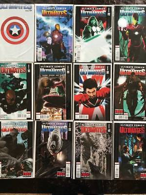 Ultimate Comics: The Ultimates Comic Book Lot, 31 Issues, Marvel  NM, Vol. 2