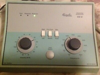 Kamplex KS8 Audiometer in good, working condition