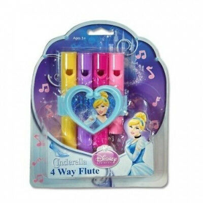 Disney Cinderella 4-Way Flute (Pack of 2). Free Delivery