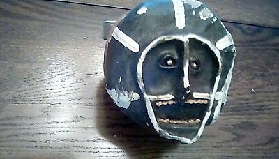 "Piaroa (pe-ado-a) ""RARE"" Primitive war ceremonial mask. Parima Area artifacts.."