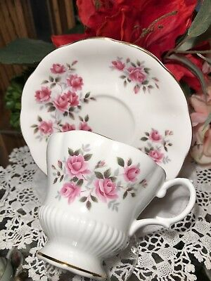 Royal Albert Small Roses Teacup And Saucer