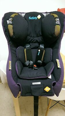 Safety First - Sentinel II Car Seat - Grape / Yellow [Manf. 04/2014]