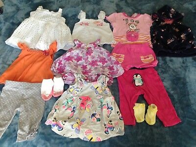 Baby Girl Clothes Bundle Size 00 3 - 6 Months Mainly Target Summer Bulk