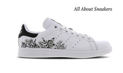 stan smith flower embroidery