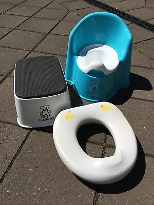 Baby Bjorn Step and Potty and non brand Toilet Training Seat