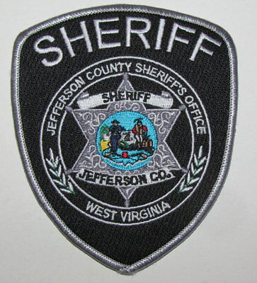 West Virginia State Jefferson County Sheriff Office Police Patch