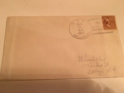 Original USS Oklahoma 1941 Pearl Harbor Cover