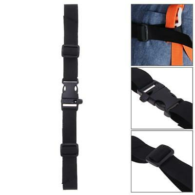 Adjustable Bag Backpack Webbing Sternum Chest Harness Buckle Clip Strap QW