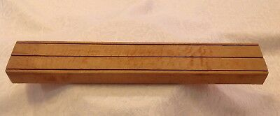 Vintage Mirro Cooky Press Discs/pastry Tips Wood Block Holder Replacement Piece