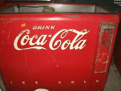 1950's Coca Cola Westinghouse W-DIR water cooled cooler, collectible,advertising