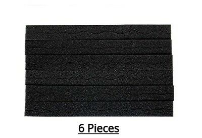 6Pk EggCrate Slim Acoustic Foam Panel Studio Soundproofing Foam Tiles 3/4x12x12