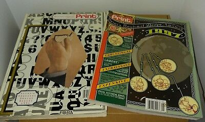 Print - America's Graphic Design Magazine (lot of 2) 1994 & 1997 retail $34/$35