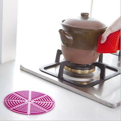 Silicone Table Heat Resistant Mat Cup Coffee Beverage Placemat Pad MA