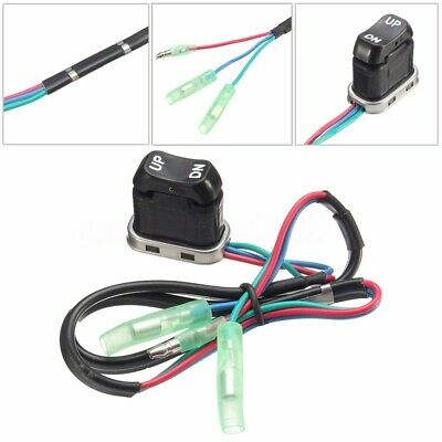 Trim Tilt Switch For Yamaha Engine Outboard Motor Remote Control 703-82563-02-00