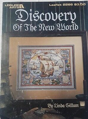 """Cross Stitch Pattern """"Discovery of the New World"""" by Linda Gillum"""