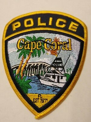 Cape Coral Police Officers Official Uniform Patch