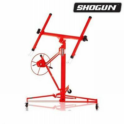 NEW 16ft-65KG Red Shogun Drywall Panel Lifter Plaster Board,Solid Steel Material
