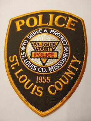 St Louis County Police Officers Official Uniform Patch