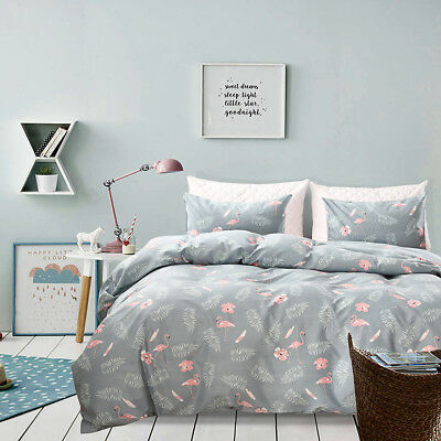 2018 New Soft Doona Duvet Quilt Cover Set KING size Bed Pillow Cases Floral AU