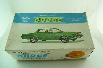 Vintage Battery operated Dogde Forward & Reverse in OVP
