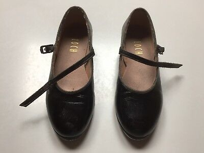 Bloch Girls Black Tap Shoes - size 13