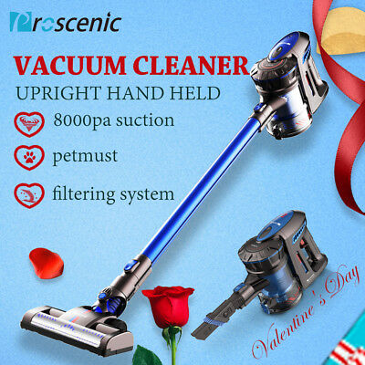Proscenic P8 Cordless Vacuum Cleaner Handheld Upright Recharge Vac Bagless Mop