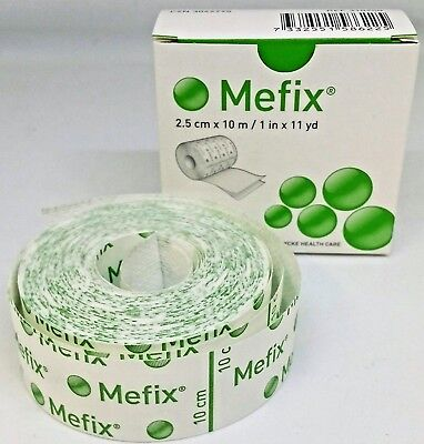 MEFIX SURGICAL TAPE HYPOALLERGENIC 2.5cm x 10m | 2 PACK | UK PHARMACY | FAST |