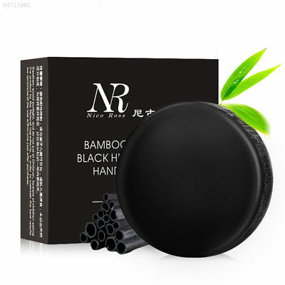 6381 Bamboo Charcoal Remove Acne Blackhead Cleansing Facial Handcraft Soap Skin