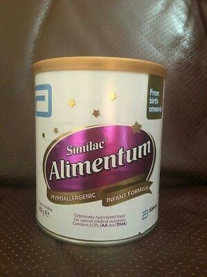 Similac Alimentum Hypoallergenic Infant Formula - Suitable from Birth 400g