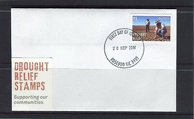 2018 Australia Drought Relief Stamp Small First Day Cover, Not Issue Like This