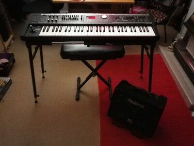 Roland VR-09B Keyboard All You Need To Get Going Bundle Deal Pristine Condition