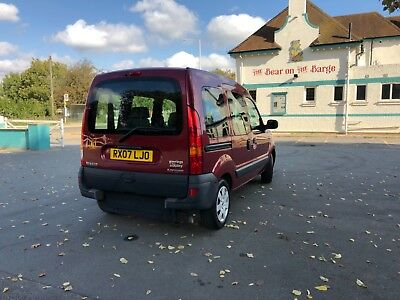 Renault Kangoo Wheelchir accessible