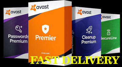 ✅ Avast Premier 2018 | 3 PCs | New Key 10 years - Email Delivery 🔥 ✅ + 3 Gifts