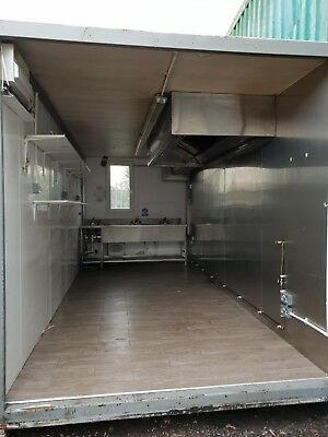 18ft X 8ft Kitchen Container