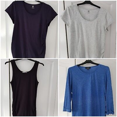 4 X Maternity Tops (14/L) H&M and New Look