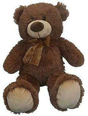 NEW Plush Super Soft Large Teddy Bear - Big 50cm Cuddly Toy - Traditional Gift