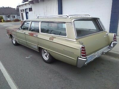 1966 Mercury Monterey  1966 commuter station wagon low miles nice patina mint interior daily driver