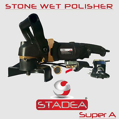 Stadea Stone Wet Polisher Variable Speed For Concrete Countertop Stone Polishing
