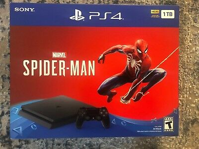 Sony PlayStation 4 Slim 1TB Console Spider-Man Bundle