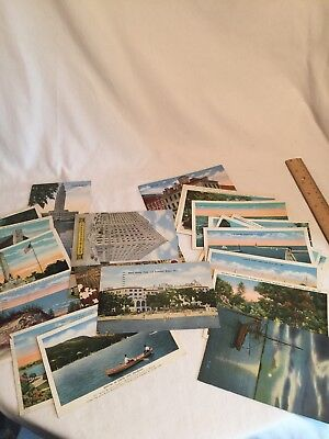 Vintage 22 Lot E.C. Knopp & Co Postcards From Various Locations.