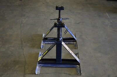 """2 Current Tools 670 Screw Type Cable Reel Stand 2500# 13"""" - 27"""""""