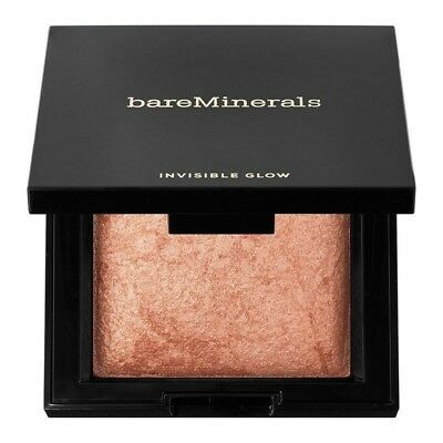 BareMinerals Invisible Glow Powder Highlighter Tan 0.24 oz 100% Brand New